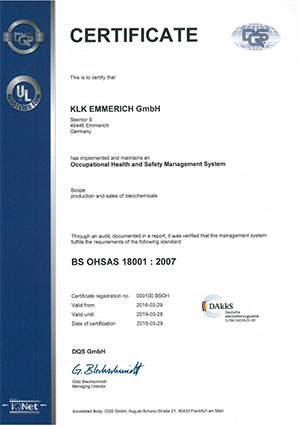 DQS OSHAS 18001:2007
