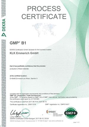 Dekra GMP+ B1