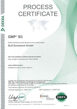 Dekra GMP+ B3