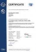 DQS FSSC 22000:2005 Glycerin FG + Edenor GTF